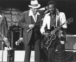 Bobby Bland and Mel Brown (1981 Chicago Blues Festival) by Martin Feldmann, Bobby Bland, and Mel Brown
