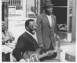 """Maxwell St. Jimmy Davis by Gerard Robs and Charles """"Maxwell St. Jimmy Davis"""" Thomas"""