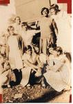 Princess White with the Silas Green Dancers (circa late 1920) by Princess White