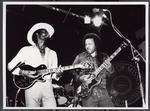 Lonnie Brooks and Dion Payton (1984) by Pertti Nurmi, Lonnie Brooks, and Dion Payton