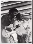 Albert Collins and A.C. Reed (1982 Puistoblues Festival) by Pertti Nurmi, Albert Collins, and A. C. Reed
