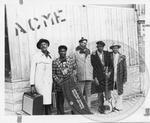 Floyd Jones by Jim O'Neal, Floyd Jones, Big Walter Horton, and Honeyboy Williams