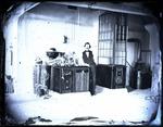 Edward C. Boynton in laboratory, image 001 by Edward C. Boynton