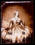 Edward C. Boynton's wife, sitting in a chair by Edward C. Boynton
