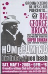 Homecoming birthday blues bash, featuring Big George Brock with the Houserockers, Clarksdale