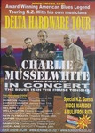 Charlie Musselwhite and Friends advertisement for the Delta Hardware Tour in New Zealand