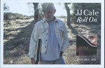 J.J. Cale advertisement poster for Roll on by Rounder Records (Firm)