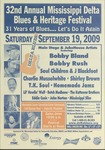 Mississippi Delta Blues & Heritage Festival; featuring Bobby Bland, Bobby Rush, and others (32nd : 2009)
