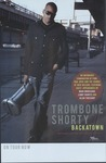 Trombone Shorty advertisement poster for Backatown by Verve Music Group