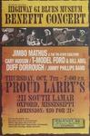 Highway 61 Blues Museum benefit concert at Proud Larry's