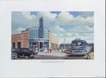 Southern Greyhound Lines Bus Station, Clarksdale (Miss.), circa 1952