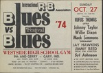 Blues vs. Blues Festival, Westside High School Gym, Gary (Ind.), featuring Rufus Thomas and others