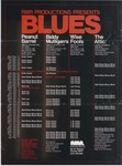 Blues calendar, Chicago, RMR Productions, various venues, 1974-1975 by RPR Productions
