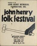 John Henry Folk Festival at Camp Virgil Tate (W. Va.)