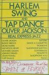 Harlem swing and tap dance, Oliver Jackson real express jazz