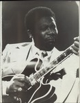 Photo of B.B. King from the Bottom Line in NYC, image 001