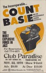 Count Basie concert at Club Paradise 645 E. Georgia Ave