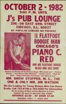 J's Pub Lounge featuring Piano C. Red