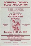 Clarence 'Gatemouth' Brown at Branch 50 Canadian Legion