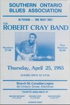 Southern Ontario Blues Association, featuring Robert Cray Band