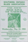 Southern Ontario Blues Association, featuring Magic Slim & the Teardrops