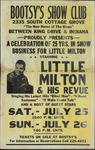 Bootsy's Show Club presents Little Milton