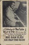 Big Sam Clark advertisement for WLYX-FM 89.3