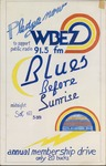 Blues before sunrise, WBEZ 91.5 FM annual membership drive
