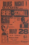Blues night! McGovern benefit, Highland Park High School Auditorium, Chicago, featuring Siegel-Schwall and others