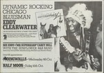 Eddy Clearwater, 'the Chief,' UK appearances at Dingwalls and Half Moon, London