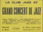 Grand Concert de Jazz, Le Club Jazz 47, Villeneuve-s-Lot, featuring Doc Cheatham and others