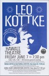 Hawaiian tour: Leo Kottke with Ramblin' Jack Elliott, various shows