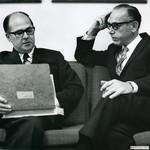 Burson with Buck Buchwald, 1968 by Harold Burson and Buck Buckwald