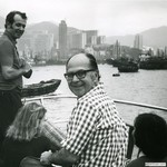 Opening of BMS Office in Hong Kong with Bob Leaf, 1973 by Harold Burson