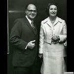 Burson in Texas with Lady Bird Johnson, 1974 by Harold Burson and Lady Bird Johnson