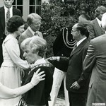 White House Reception with President Jimmy Carter for Kennedy Center Board and Corporate Fund Donors, 1977 by Harold Burson and Jimmy Carter