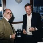 Burson with Jim Dowling, 1987 by Harold Burson and Jim Dowling