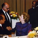 Economic Club of New York with Margaret Thatcher and Dwayne Andreas, 1991 by Harold Burson, Margaret Thatcher, and Dwayne Andreas