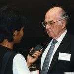 Reception for BM Jakarta, Indonesia, 1997 by Harold Burson