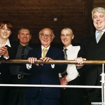 Visit to Manchester Office, England, 2001 by Harold Burson