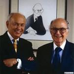Burson with Chris Komisarjevsky, 2003 by Harold Burson and Chris Komisarjevsky