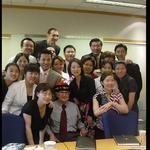 Visit to Beijing Office, China, 2005 by Harold Burson