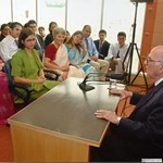 Visit to New Delhi Office, India, 2005 by Harold Burson