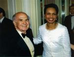 Economic Club of New York Centennial Dinner with Secretary of State Condoleeza Rice, 2007 by Harold Burson and Condoleeza Rice
