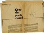 Keep the pools closed