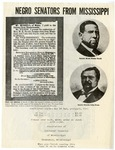 Negro Senators from Mississippi by Association of Citizens' Councils of Mississippi