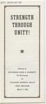 Strength Through Unity by Ross Barnett
