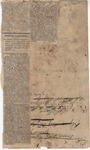 Mississippi Correspondence (2) by J. G. Deupree and Memphis Bulletin