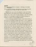 Memorandum by H. L. Mitchell