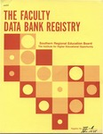 The Faculty Data Bank Registry, November 1975 by Southern Regional Education Board